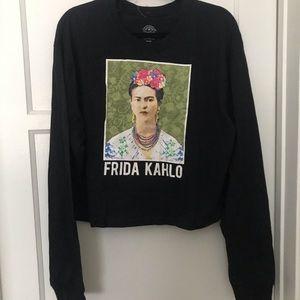 🖤 Frida Kahlo crop top !